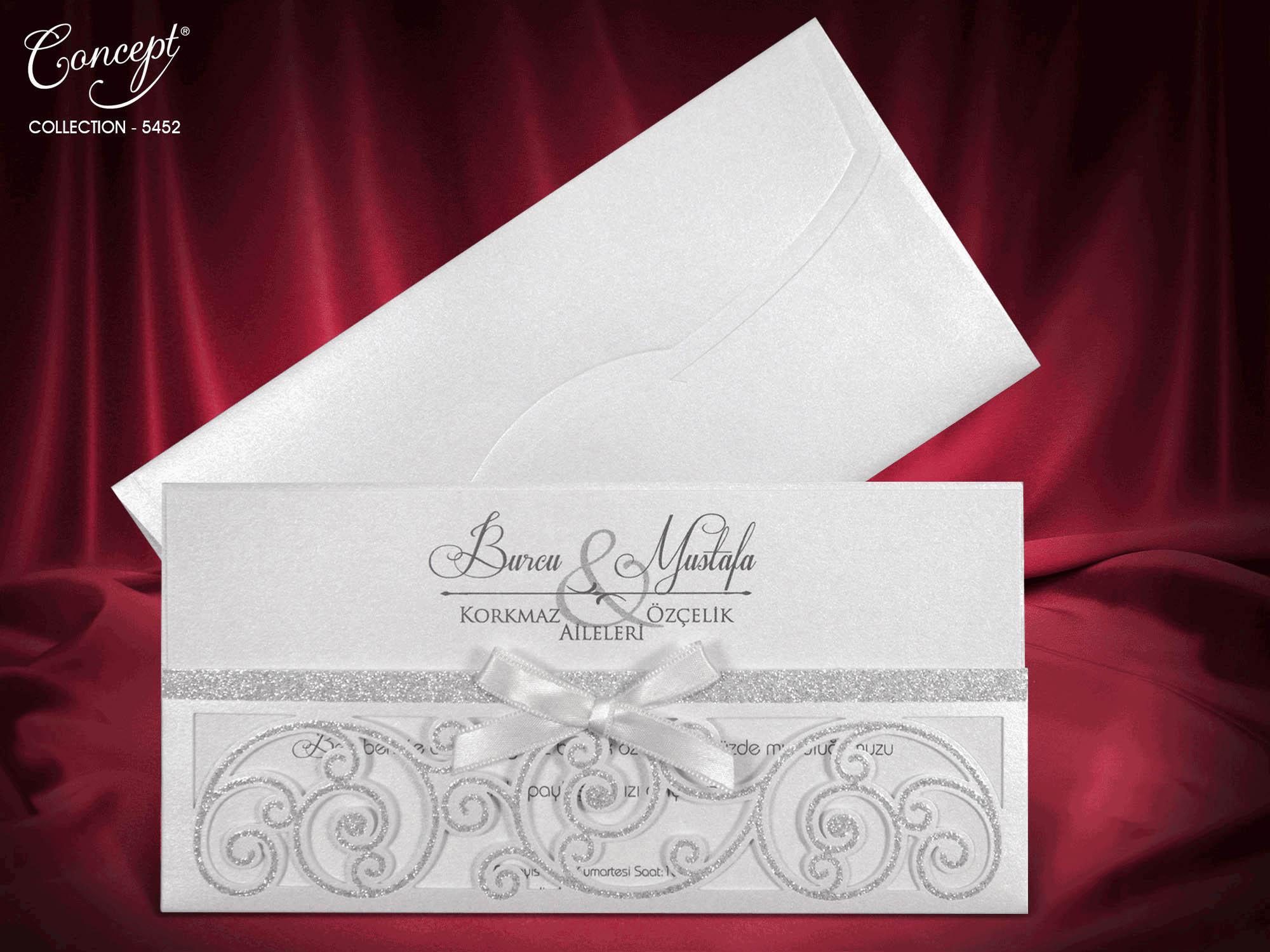 Sedef Wedding Invitation - Ace Greetings